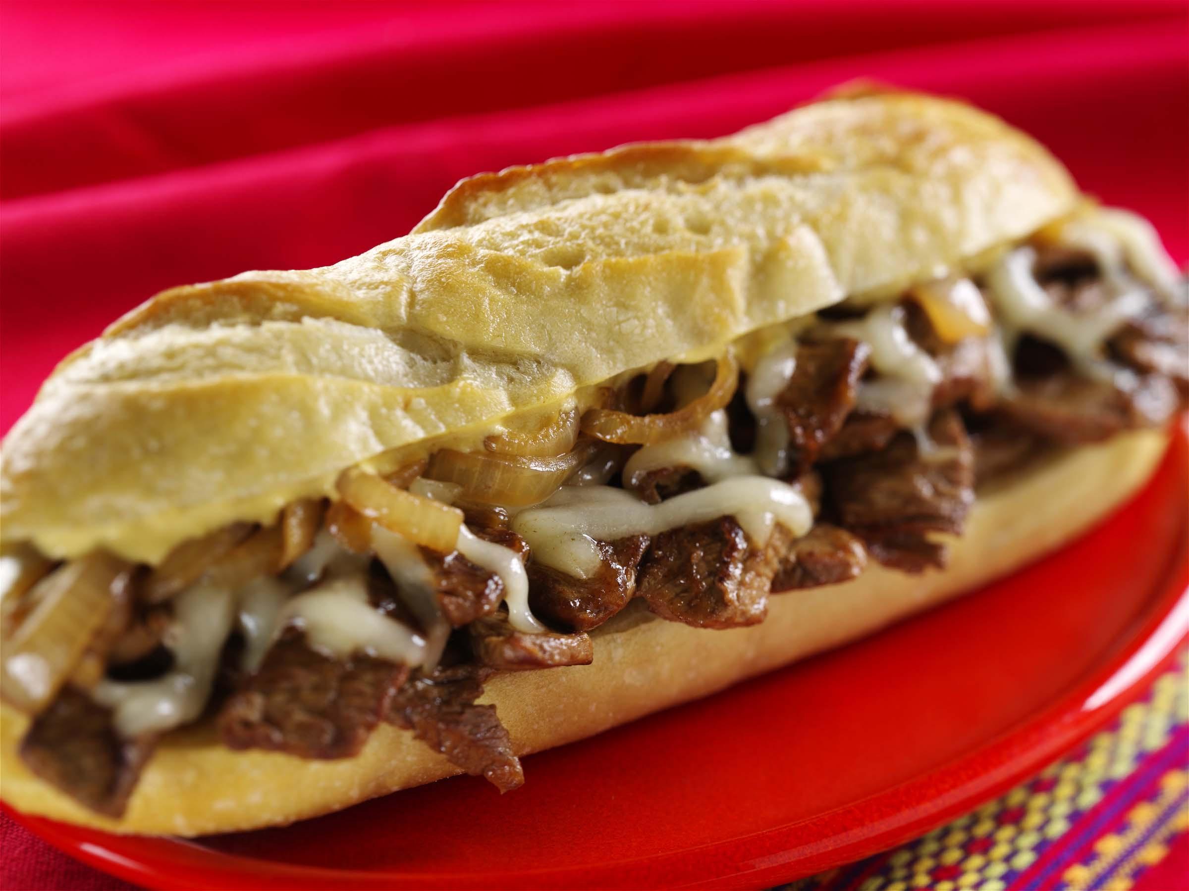 Steak And Cheese Sandwiches  Philly Cheesesteak Sandwich Wisconsin Farm Bureau Federation
