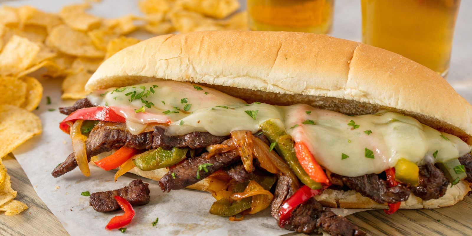 Steak And Cheese Sandwiches  Easy Homemade Philly Cheese Steak Recipe How to Make a