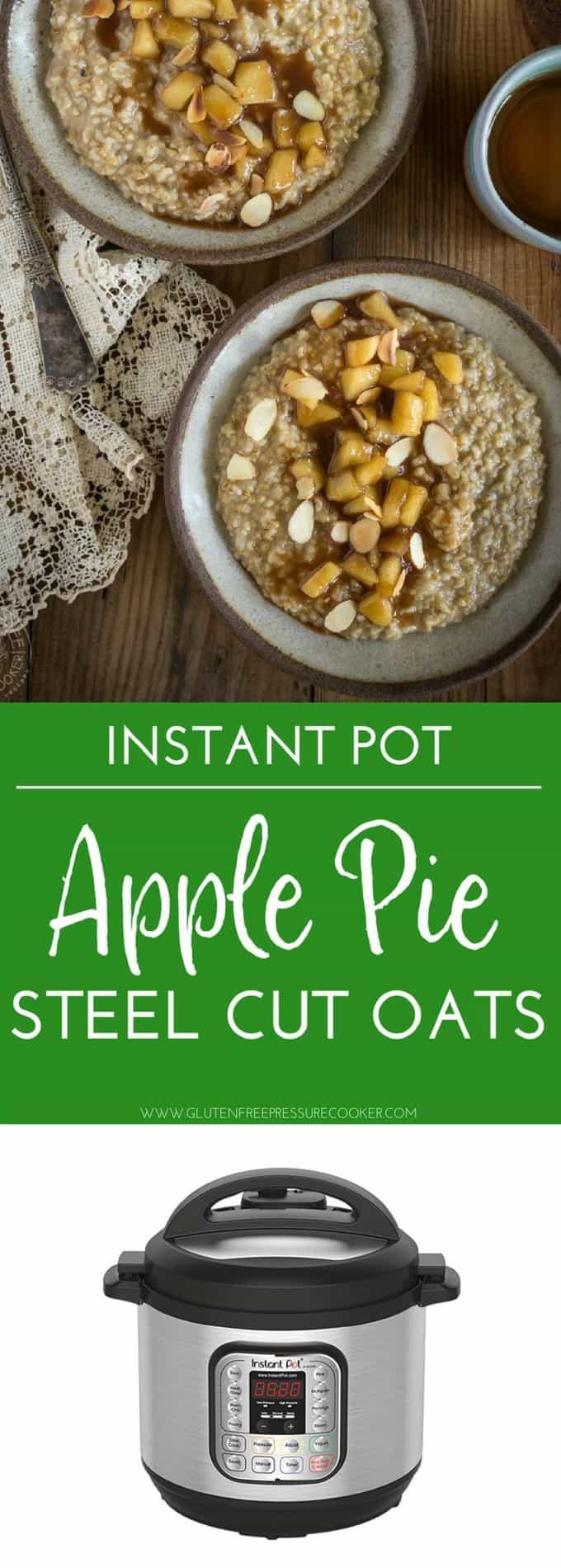 Steel Cut Oats Pressure Cooker  Pressure Cooker Pumpkin Pie Steel Cut Oats
