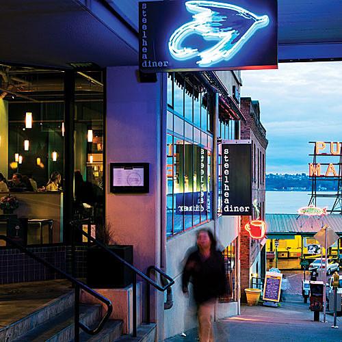 Steelhead Dinner Seattle  Steelhead Diner Sunset Magazine