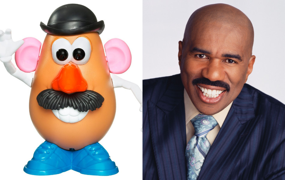 Steve Harvey Mr Potato Head  skrab275 Xavier Alvarado Avalos