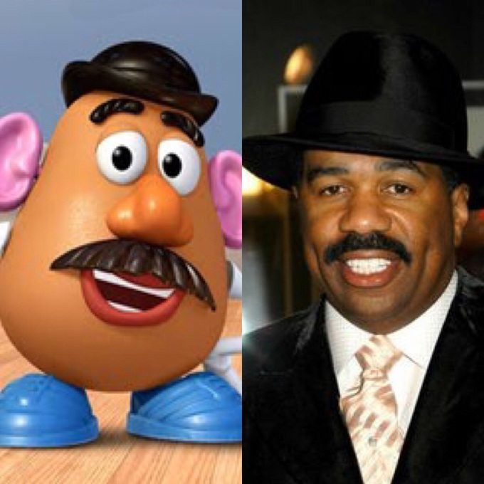 Steve Harvey Mr Potato Head  It s Time For Your Friday Morning Orgy GALLERY