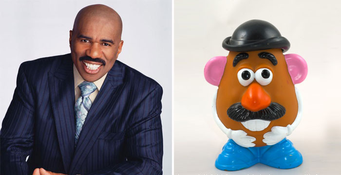 Steve Harvey Mr Potato Head  Mr Potato Head Looks Like Steve Harvey