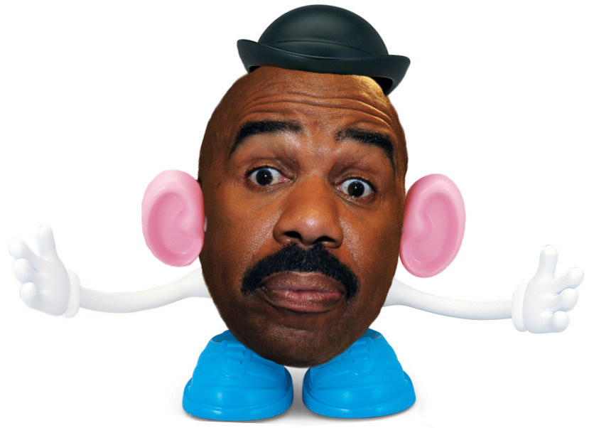 Steve Harvey Mr Potato Head  Steve Harvey s Head Things