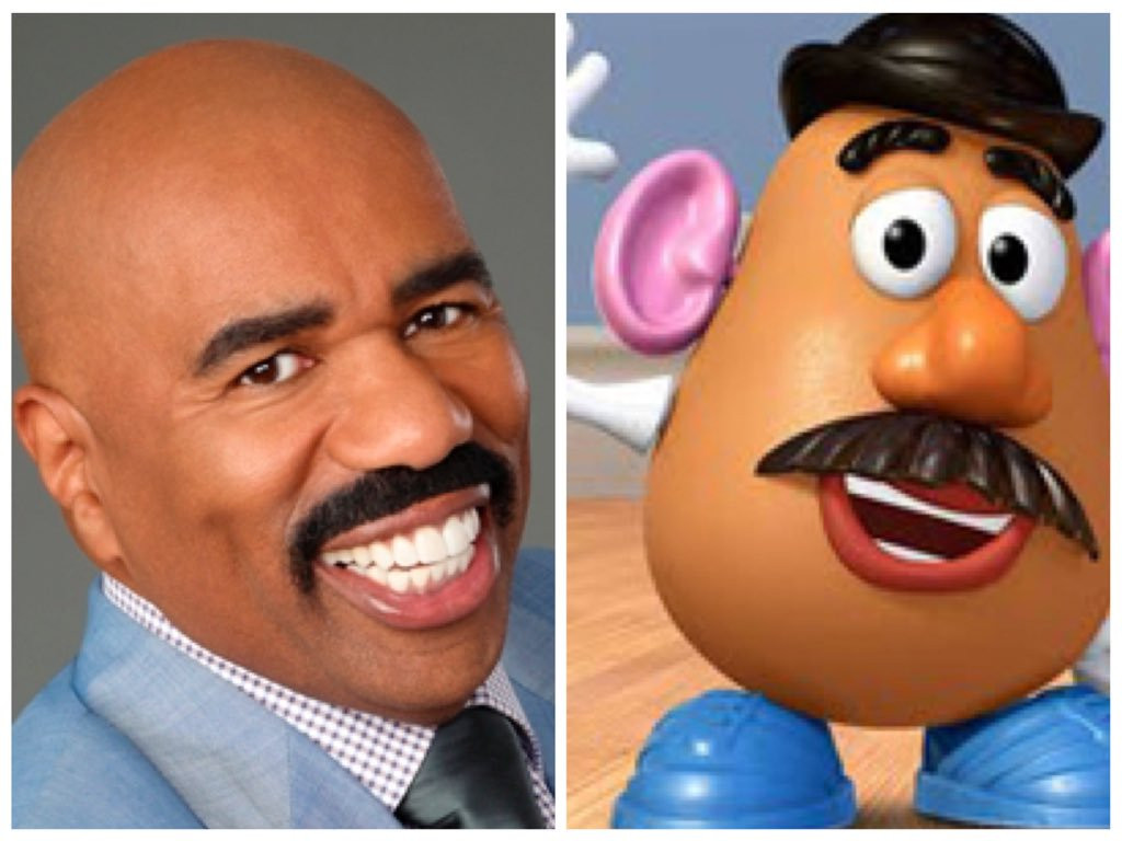 Steve Harvey Mr Potato Head  15 Times People Looked Exactly Like Disney Characters