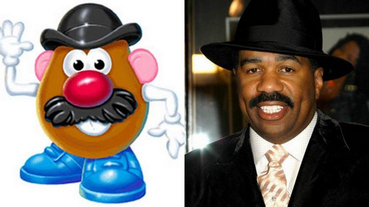 Steve Harvey Mr Potato Head  Pin by Damaris Coppock on Favorite Places & Spaces