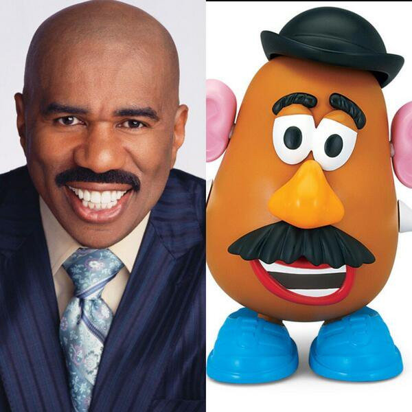 Steve Harvey Mr Potato Head  Dayo Fatuga dfatuga