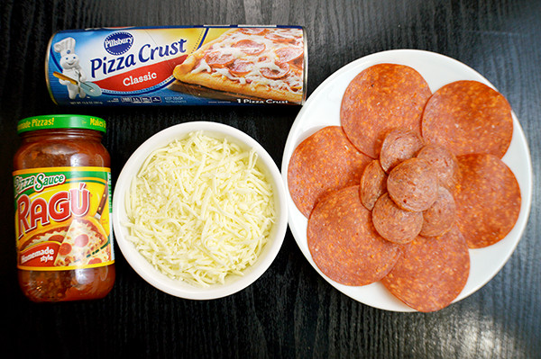 Store Bought Pizza Dough  Cheese Stuffed Pizza Pretzel 15 Minute Meals