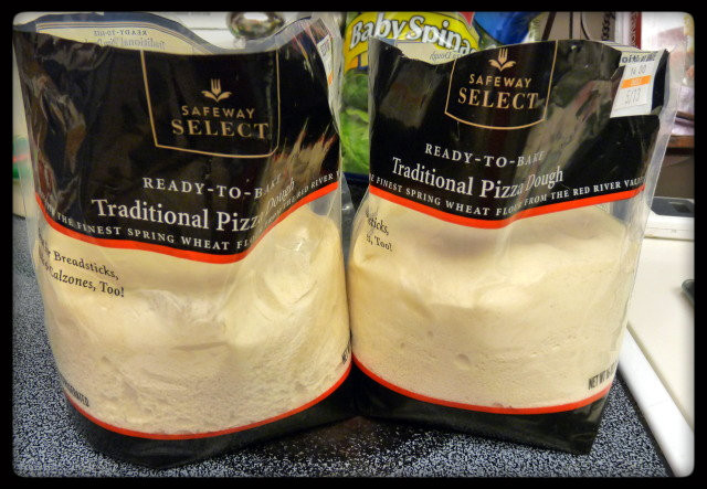 Store Bought Pizza Dough  No It's Not Delivery and It's Not DiGiorno Either