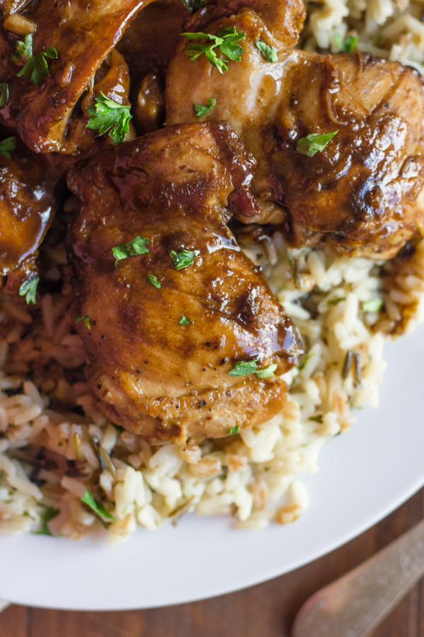 Stove Top Chicken Thighs  stove top chicken thigh recipes