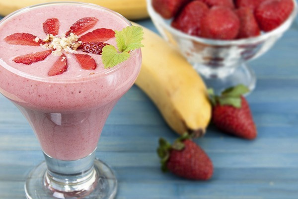 Strawberry Banana Protein Smoothies  5 Protein Packed Smoothies to Destroy Hunger Pains and