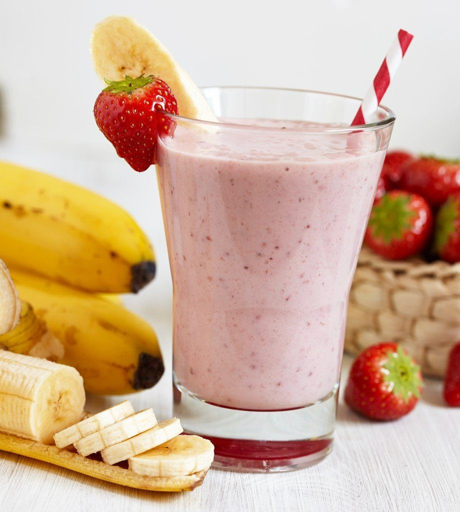 Strawberry Bananas Smoothies  How to Make a Smoothie Without Yogurt