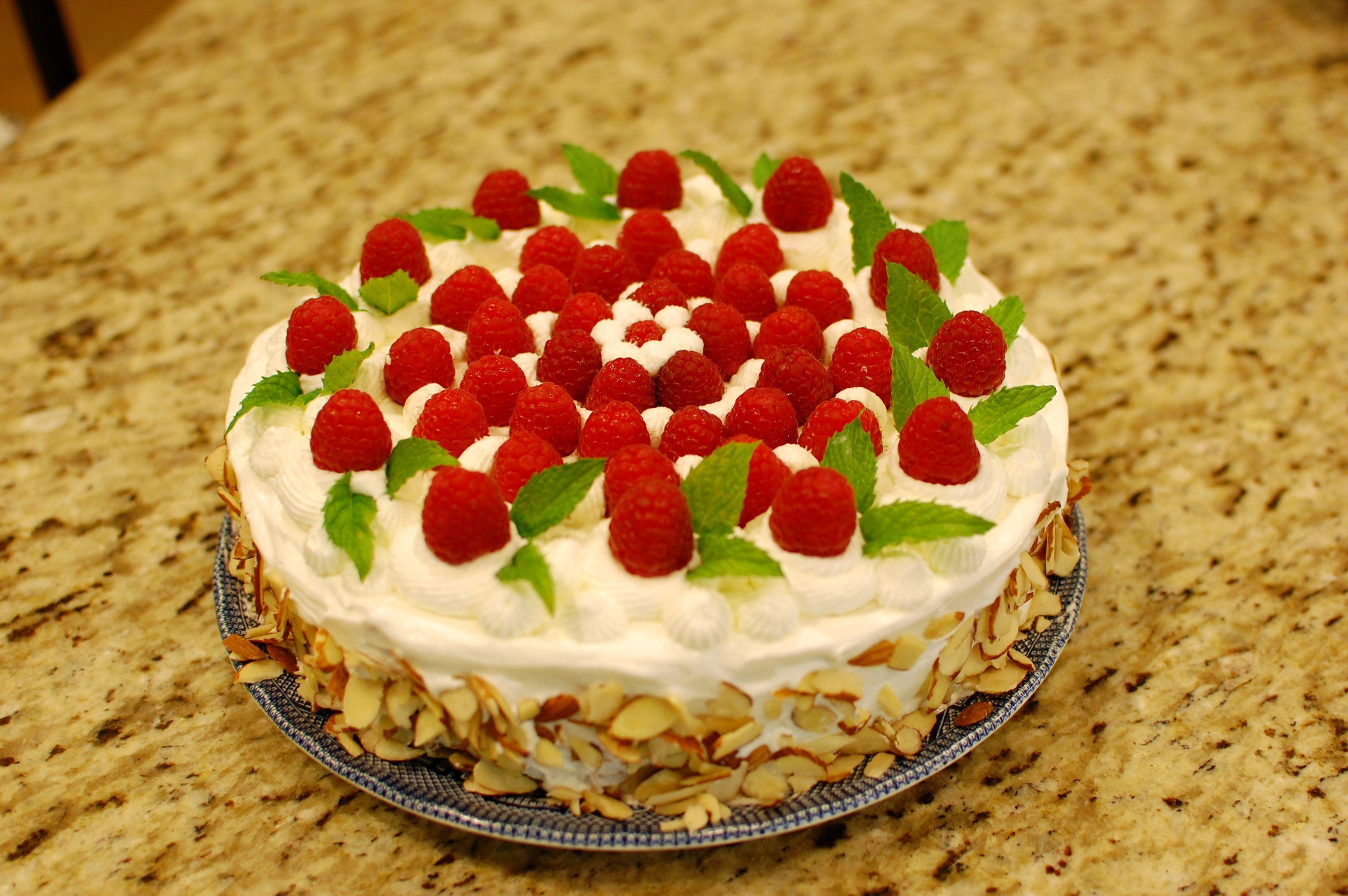 Strawberry Birthday Cake  Japanese Strawberry Cake a k a Chinese Birthday Cake