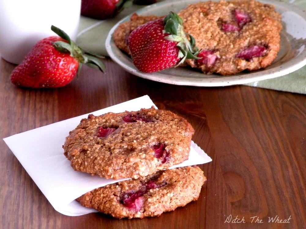 Strawberry Breakfast Recipes  breakfast cookies paleo