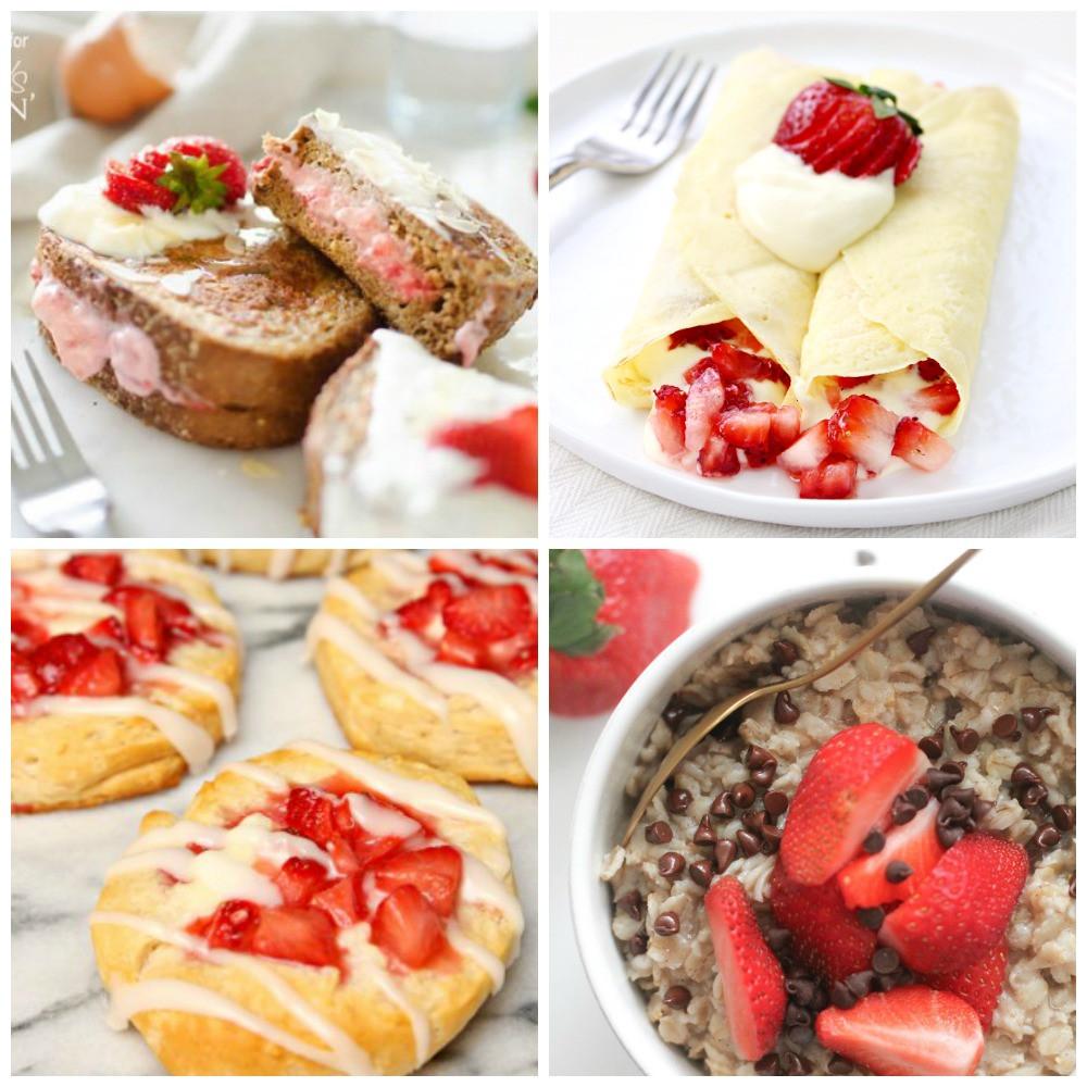 Strawberry Breakfast Recipes  Satisfying Strawberry Breakfast Recipes My Joy Filled Life
