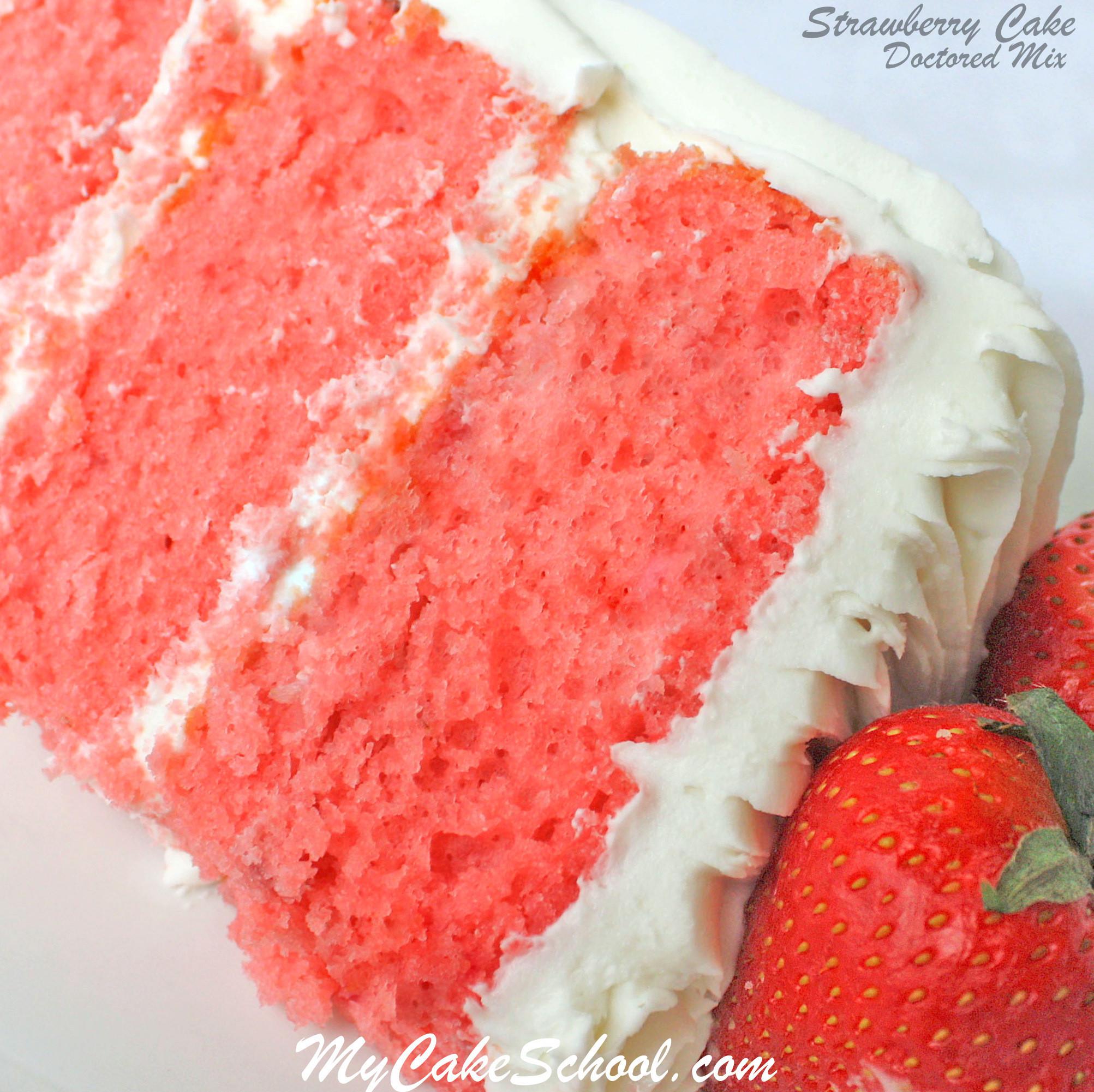 Strawberry Cake Mix  Chocolate Covered Strawberry Cake