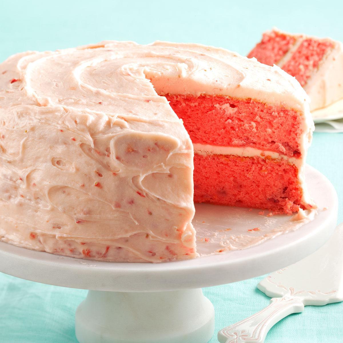 Strawberry Cake Mix  Mamaw Emily s Strawberry Cake Recipe