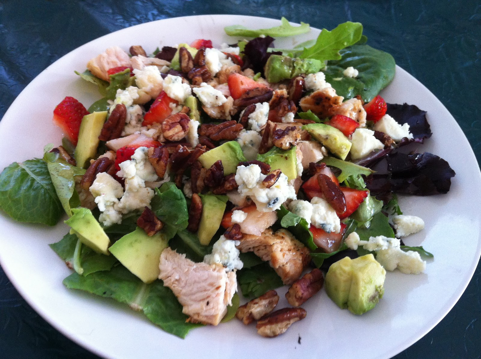 Strawberry Chicken Salad  Counting Up with P10 Strawberry Chicken Salad