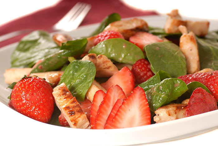 Strawberry Chicken Salad  Strawberry Chicken Salad The Cooking Mom
