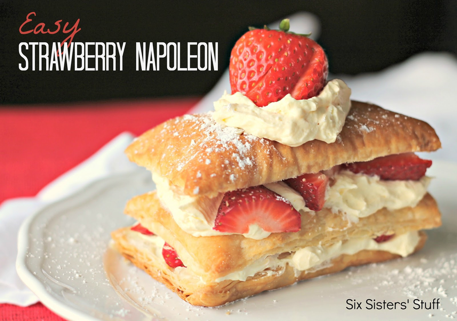 Strawberry Dessert Recipes Easy  Easy Strawberry Napoleon Recipe