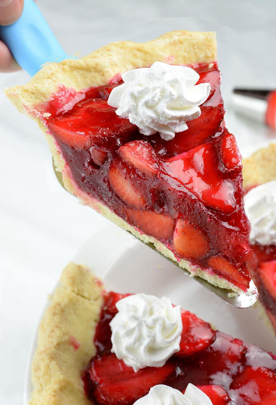 Strawberry Dessert Recipes Easy  Fresh Strawberry Pie