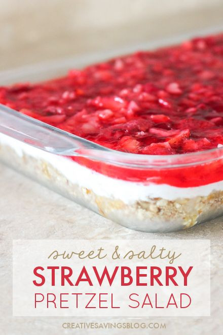 Strawberry Pretzel Dessert Without Jello  1000 ideas about Strawberry Pretzel Jello on Pinterest