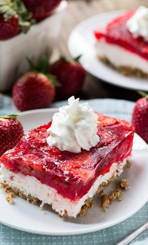 Strawberry Pretzel Dessert Without Jello  Best 25 Strawberry pretzel salad ideas on Pinterest