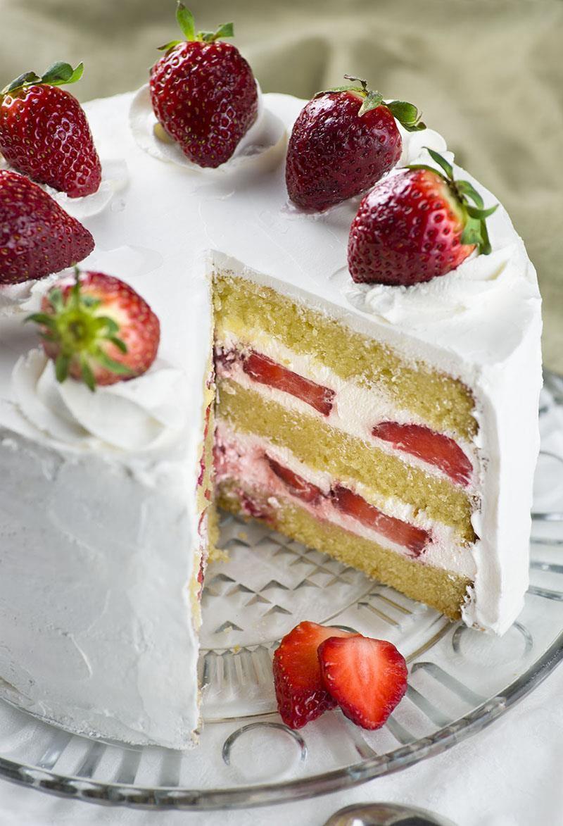Strawberry Shortcake Cake  Strawberry Shortcake Cake OMG Chocolate Desserts