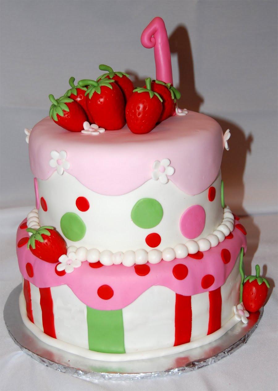 Strawberry Shortcake Cake  Leelees Cake abilities Strawberry Shortcake Cake