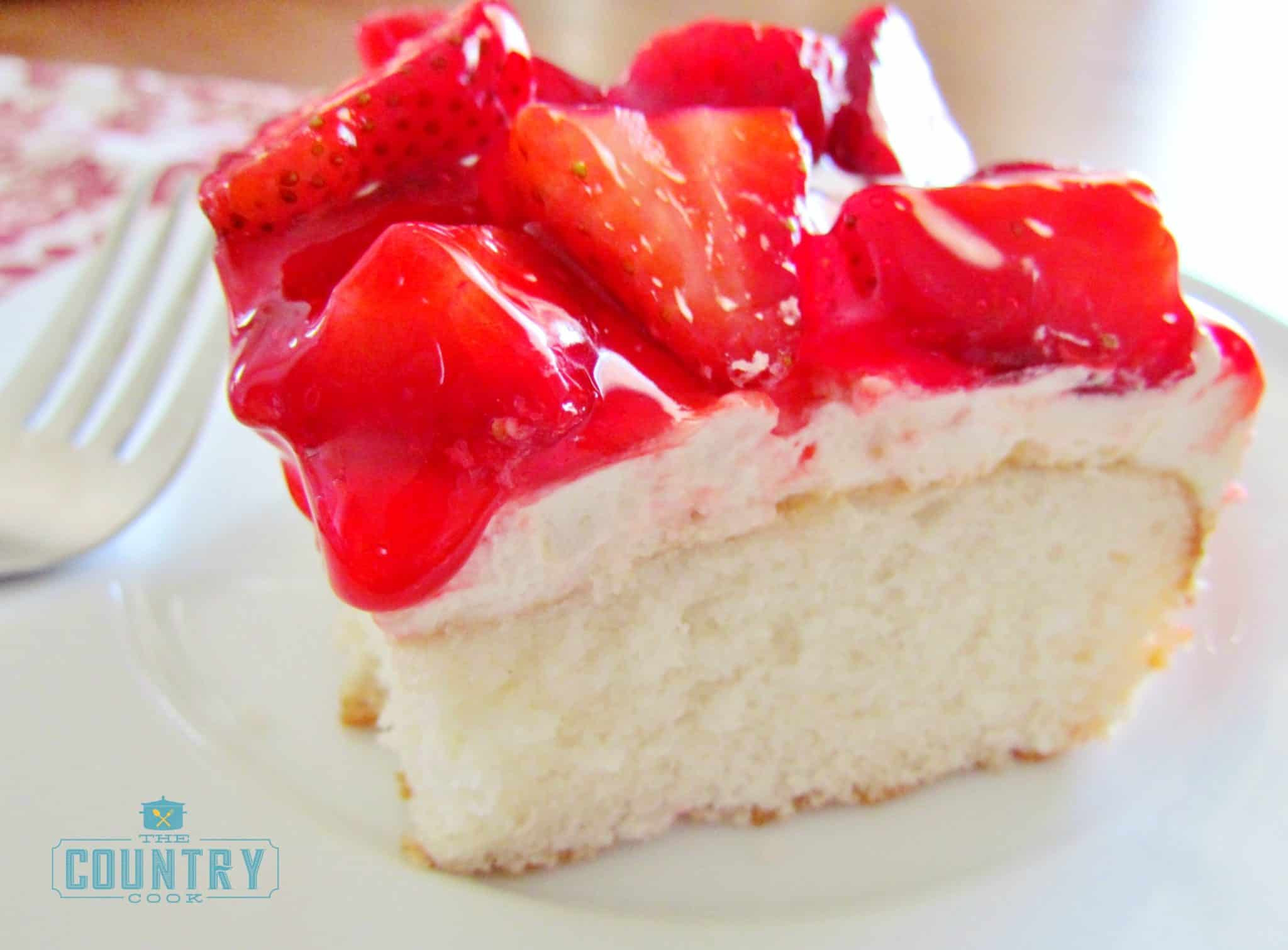 Strawberry Shortcake Cake  Strawberry Shortcake Cake The Country Cook