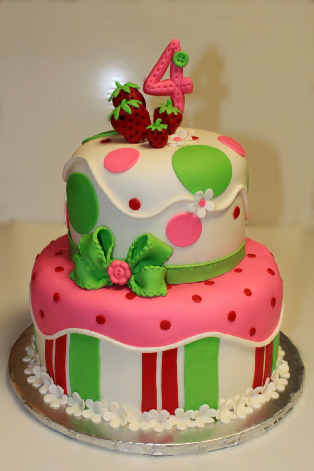 Strawberry Shortcake Cake  Layers of Love Strawberry Shortcake Cake and Cookies