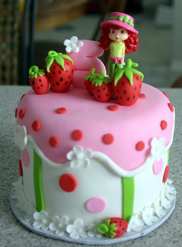 Strawberry Shortcake Cake  Strawberry Shortcake Cake
