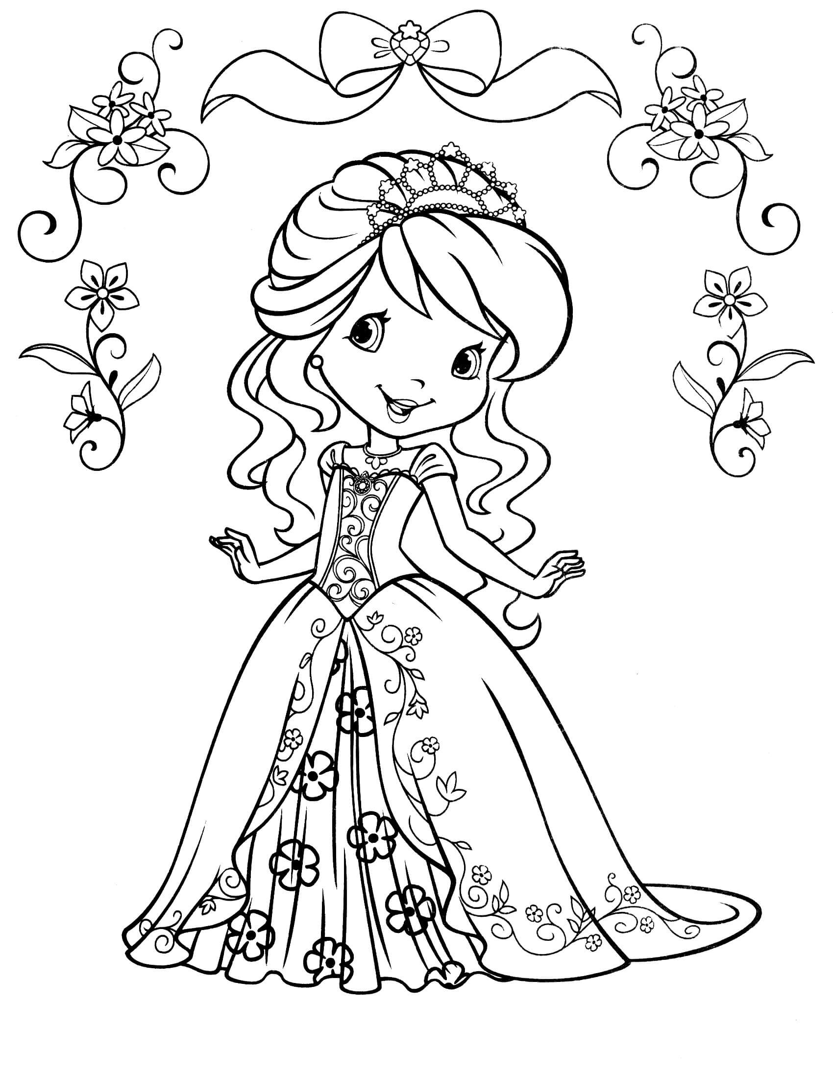 Strawberry Shortcake Coloring Page  Strawberry Shortcake 59 Coloringcolor