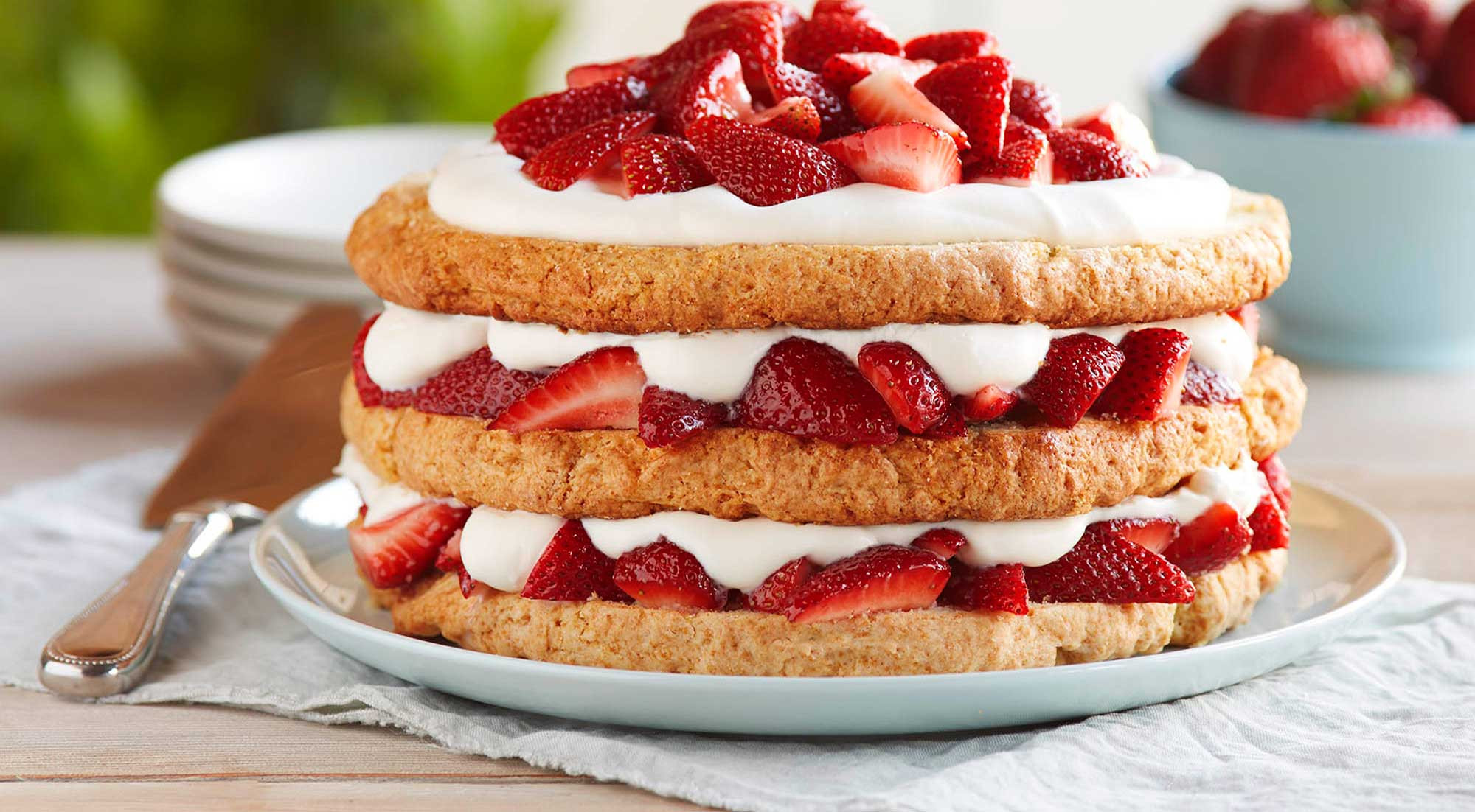 Strawberry Shortcake Dessert Recipes  Classic Strawberry Shortcake Recipe