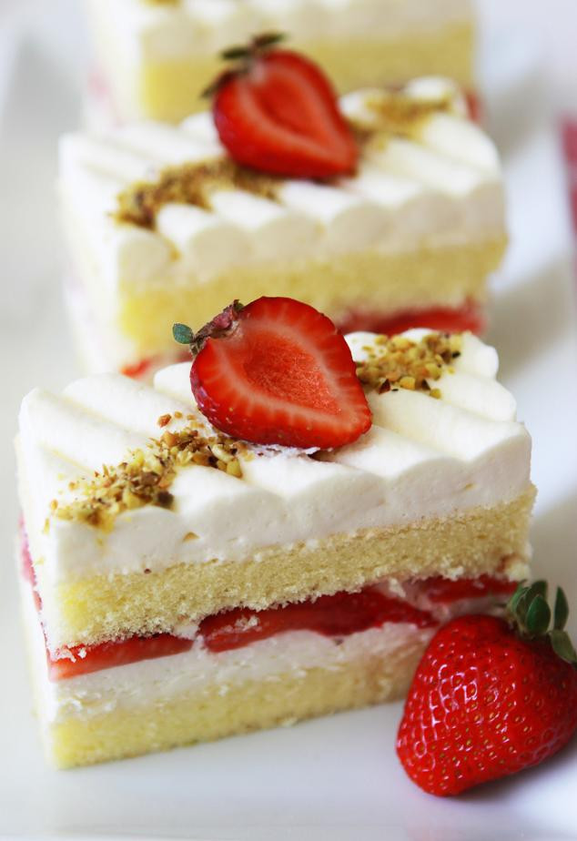 Strawberry Shortcake Dessert Recipes  Gourmet Baking Strawberry Obsession Strawberry Shortcake