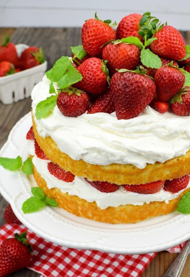Strawberry Shortcake Dessert Recipes  Strawberry Shortcake Cake Gonna Want Seconds