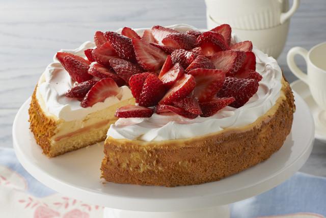 Strawberry Shortcake Dessert Recipes  Strawberry Shortcake Cheesecake Recipe Kraft Recipes