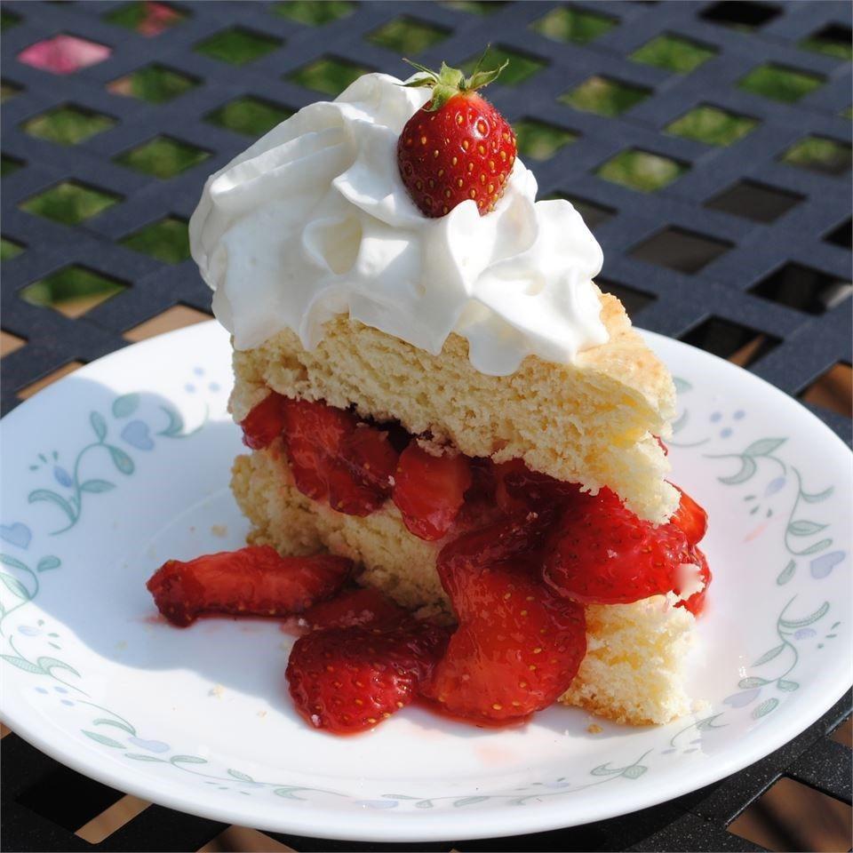 Strawberry Shortcake Dessert Recipes  Luscious Strawberry Shortcake recipe All recipes UK