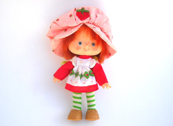 Strawberry Shortcake Doll  The World of Strawberry Shortcake Dolls in the 80s