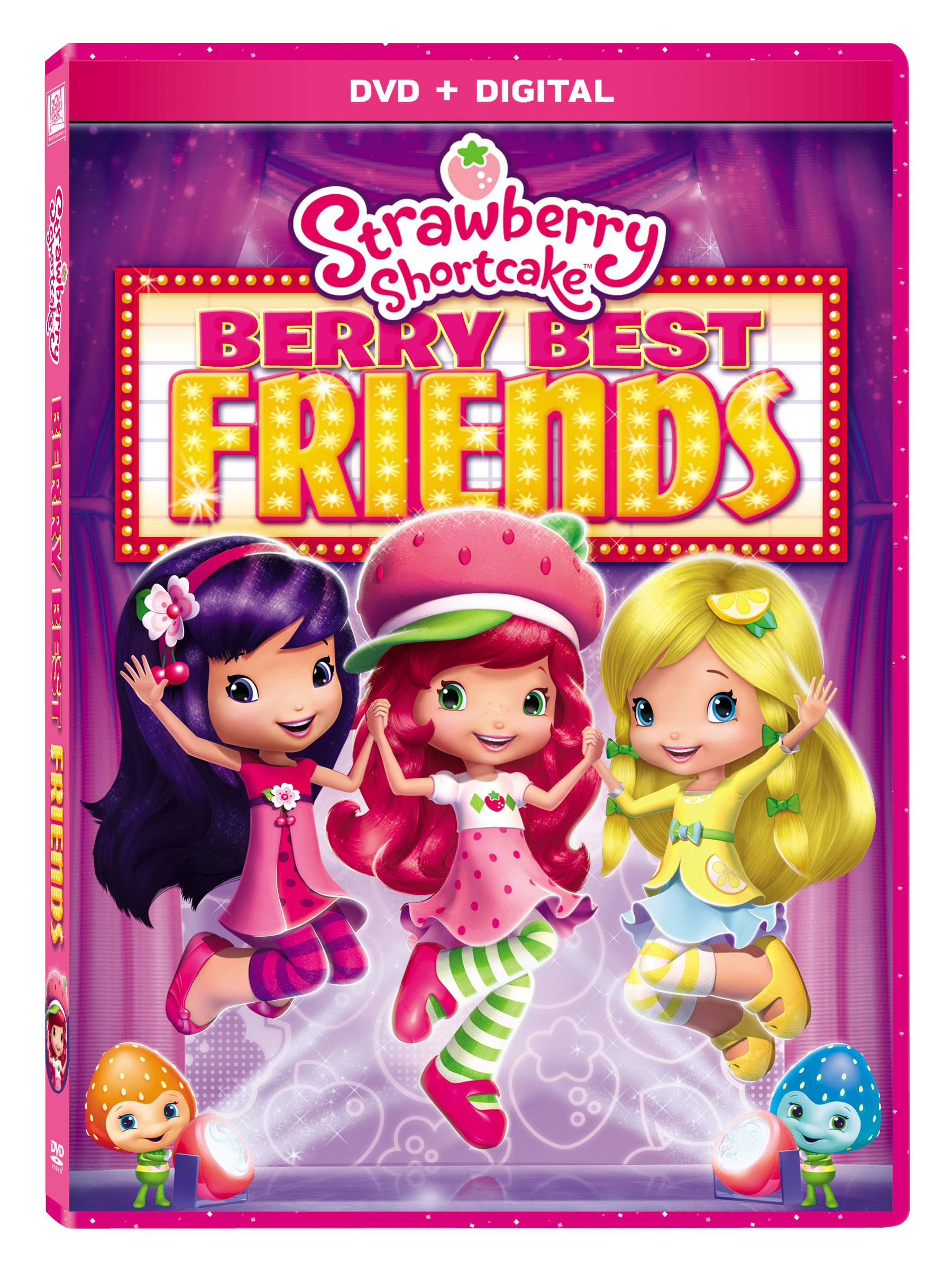 Strawberry Shortcake Dvds  Strawberry Shortcake Berry Best Friends available on DVD