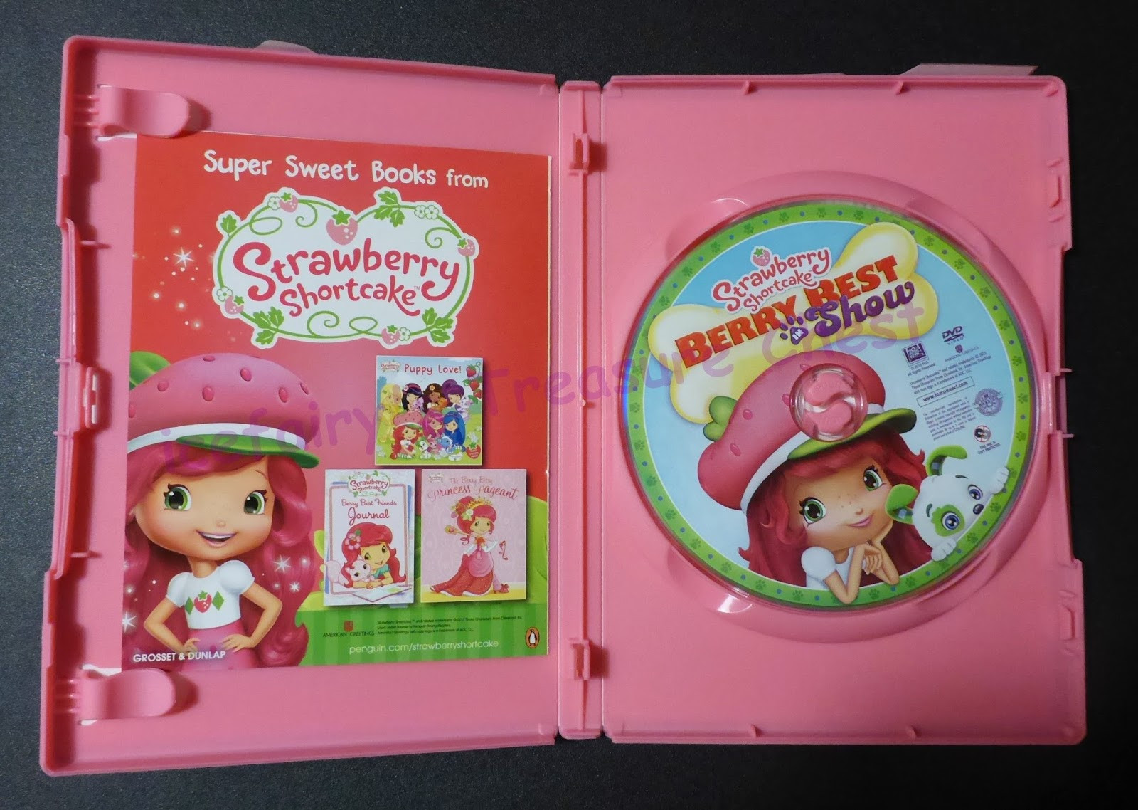 Strawberry Shortcake Dvds  Strawberry Shortcake Berry Best In Show DVD Review & Giveaway