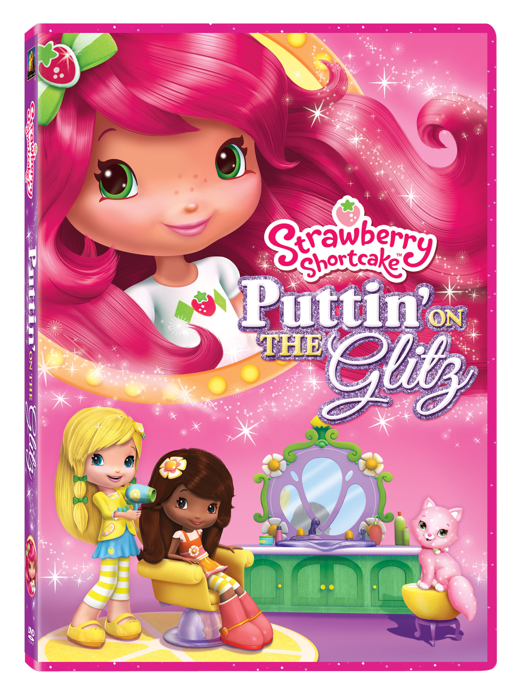 Strawberry Shortcake Dvds  Strawberry Shortcake Putting on the Glitz DVD Giveaway