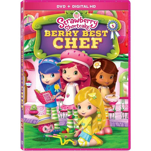 Strawberry Shortcake Dvds  Strawberry Shortcake Berry Best Chef DVD Tar