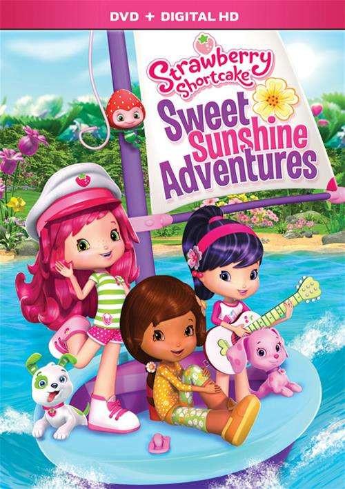 Strawberry Shortcake Dvds  Strawberry Shortcake Sweet Sunshine Adventures DVD