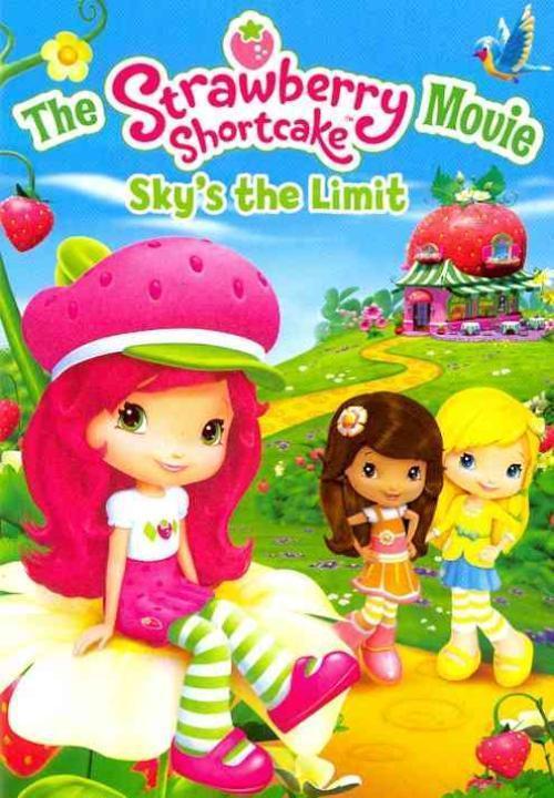 Strawberry Shortcake Dvds  THE STRAWBERRY SHORTCAKE MOVIE SKY S THE LIMIT NEW DVD