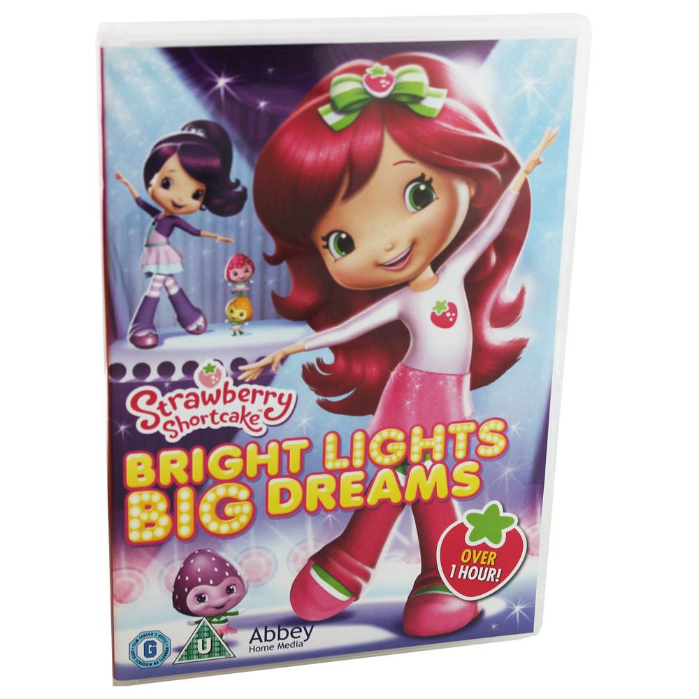 Strawberry Shortcake Dvds  Strawberry Shortcake Bright Lights Big Dreams DVD