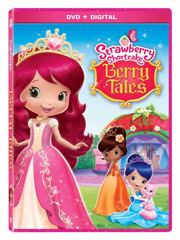 Strawberry Shortcake Dvds  Strawberry Shortcake BerryTales Blu Ray DVD Giveaway