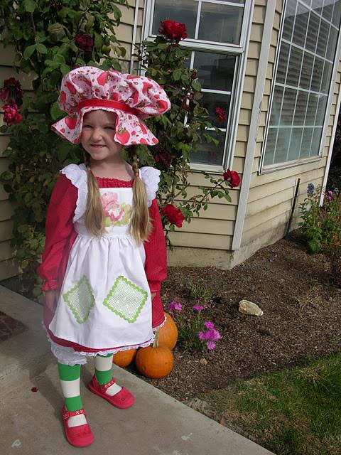 Strawberry Shortcake Haloween Costume  Cutest Halloween Costumes for Kids