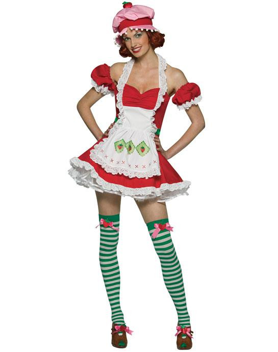 Strawberry Shortcake Haloween Costume  2017 Wholesale y Women s Fairy Costume Strawberry Girl
