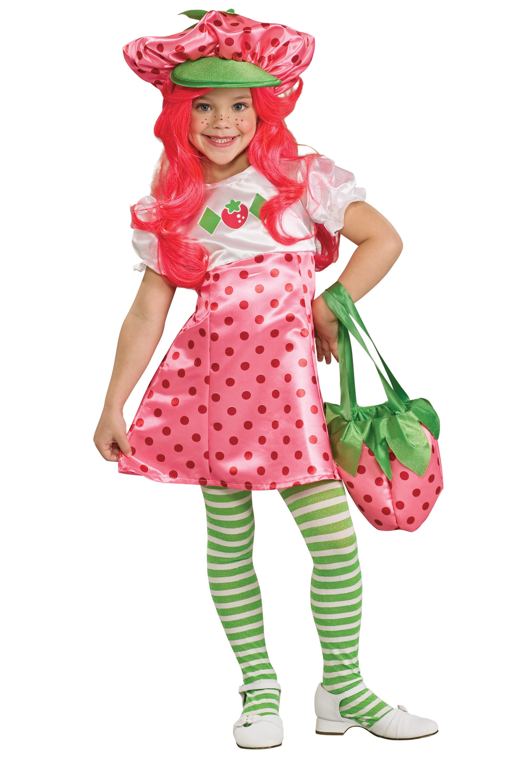 Strawberry Shortcake Haloween Costume  Child Strawberry Shortcake Costume